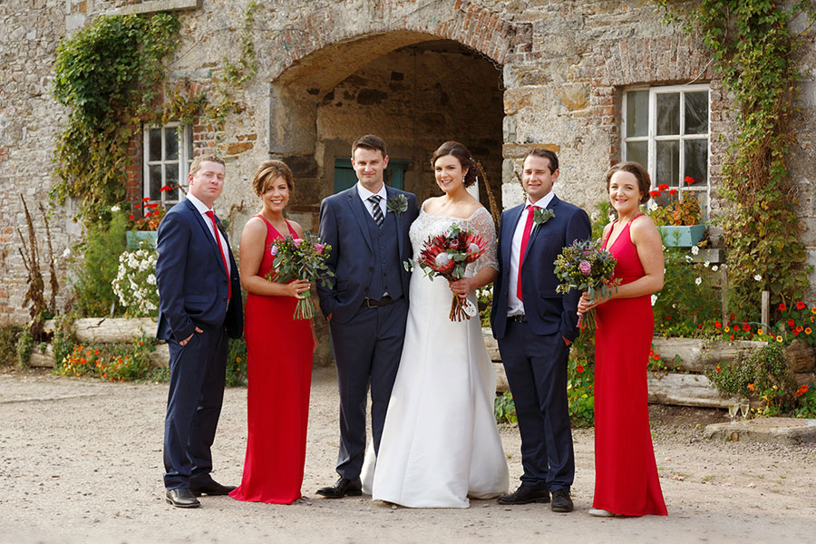 wedding photographer Longueville House
