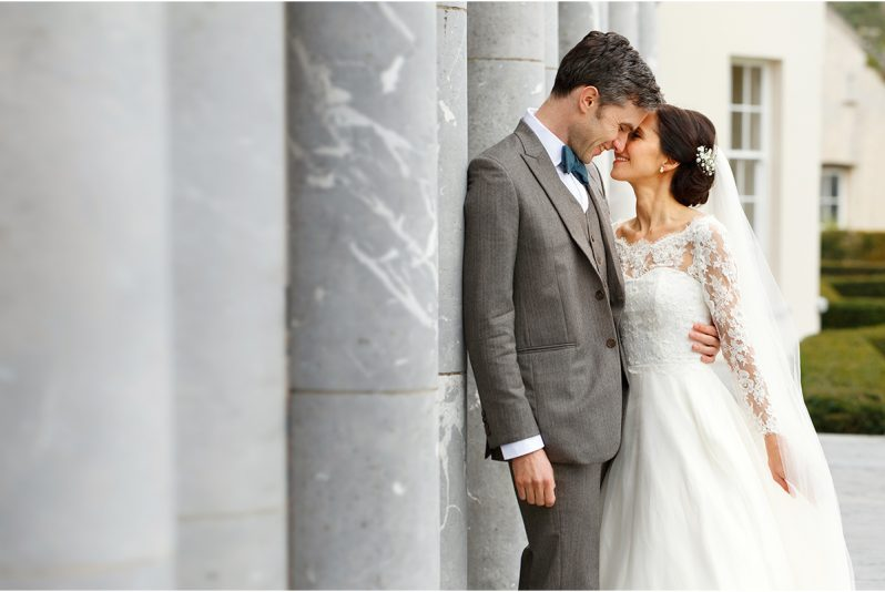 romantic wedding photograph - Castlemartyr wedding - Castlemartyr wedding photography