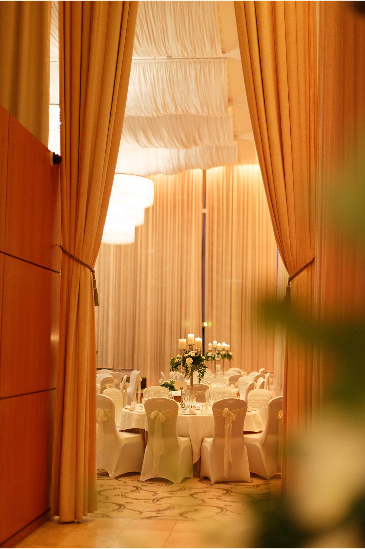 dining room Castlemartyr wedding