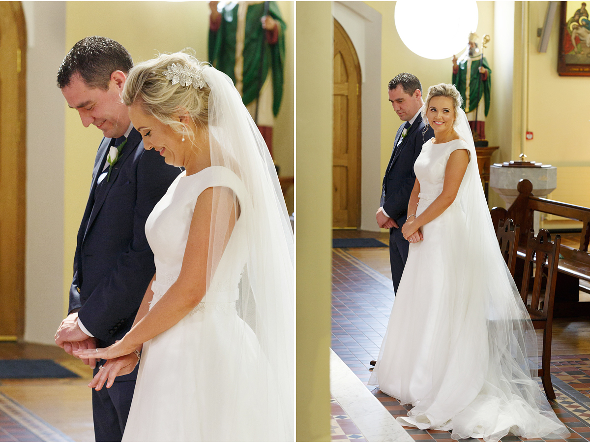 Wedding at Blarney RC Church