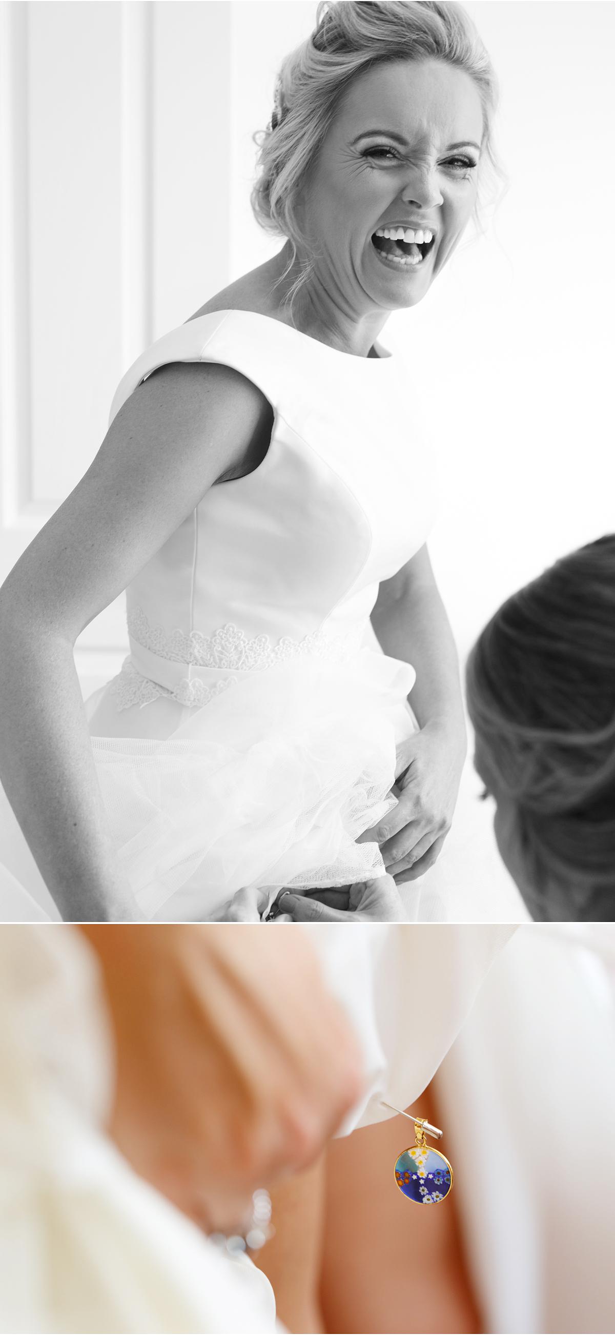 something blue - female wedding photographer Cork