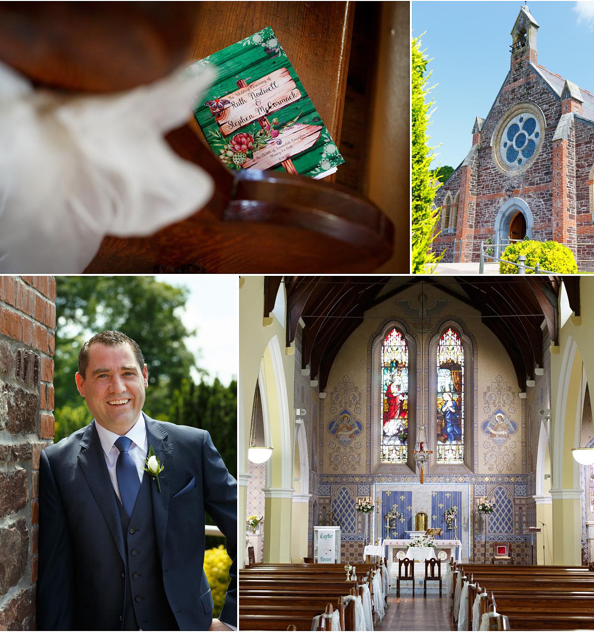 Blarney church wedding