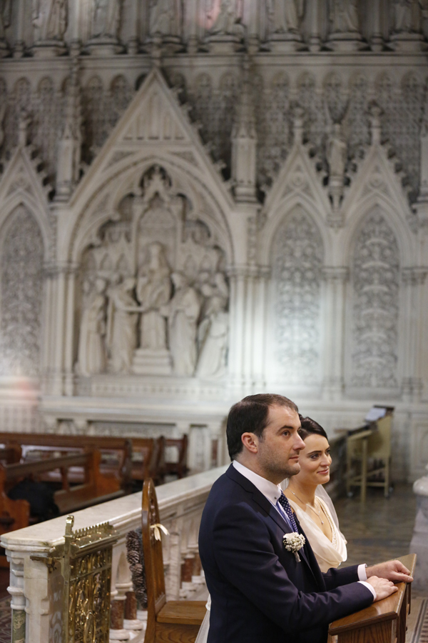 Cobh Cathedral Christmas wedding