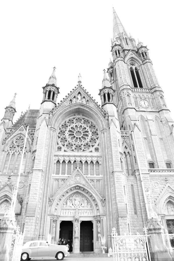 Exterior shot of Cobh Cathedral by Cork wedding photographer Claire O'Rorke