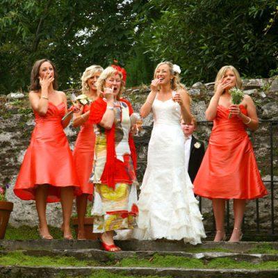 Barnabrow wedding fun