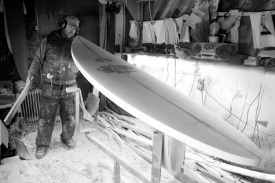 Paul - Glide surfboards- surf board shaper Cork