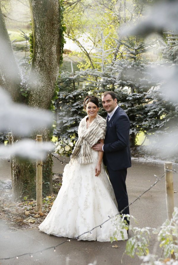 Wedding couple at Imagine in Fota Resort by Cork wedding photographer Claire O'Rorke