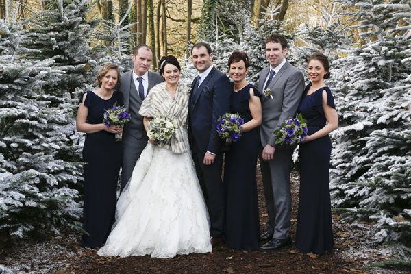 Bridal party at Imagine in Fota resort by female wedding photographer Claire O'Rorke