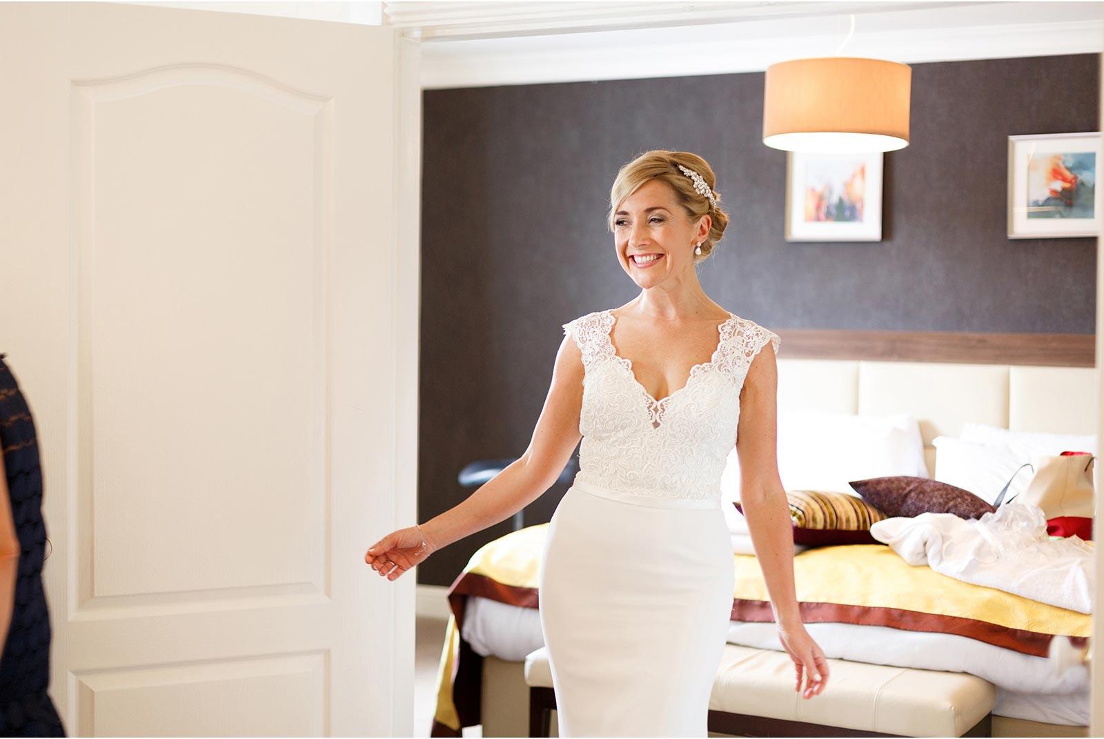 wedding dress revealed kingsley hotel bridal bliss cork