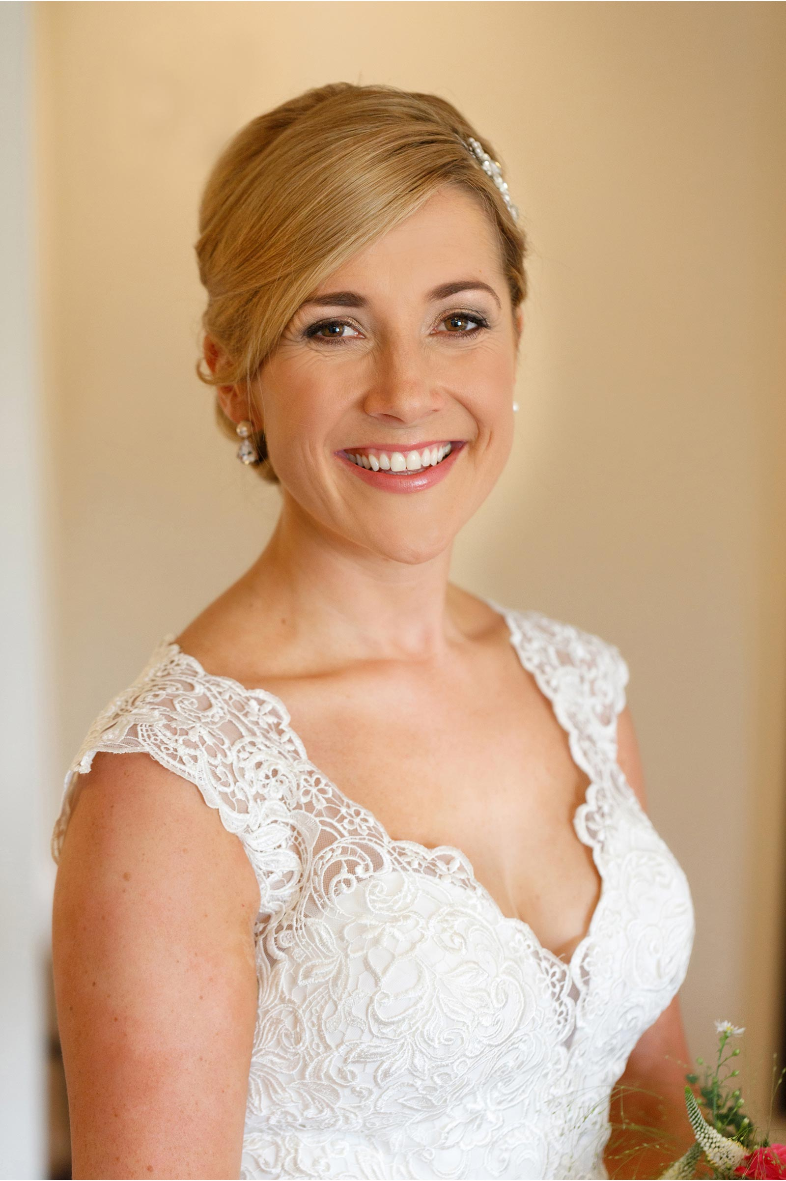 female wedding photographer cork natural bridal makeup
