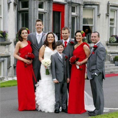 Tralee wedding - Ballyseede wedding party