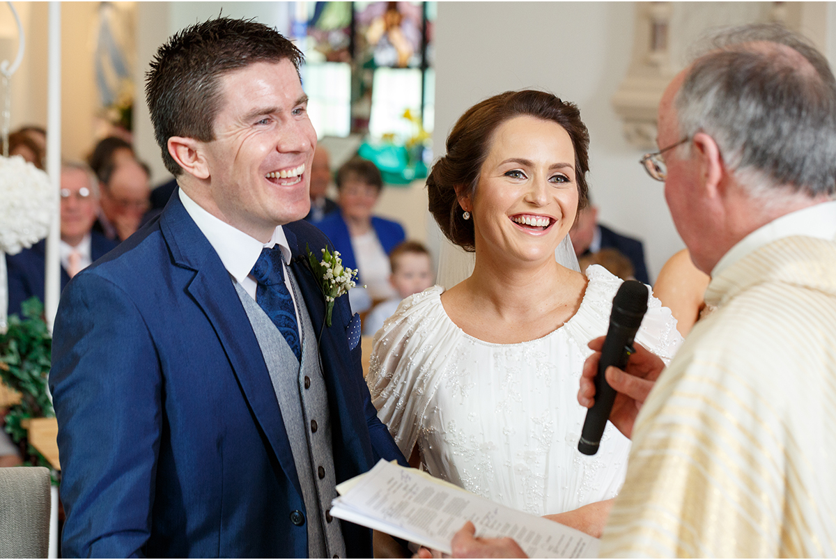 Clougheen Church wedding vows