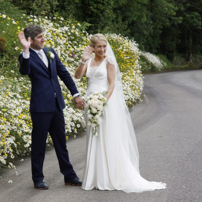 Summer time wedding in West Cork - wild flowers