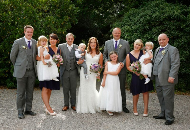 Wedding party Barnabrow Cork