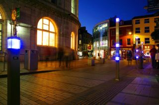 Cork city at night - Oliver Plunket St.