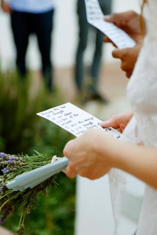 destination wedding photographer Cork - wedding vows - Irish Maori