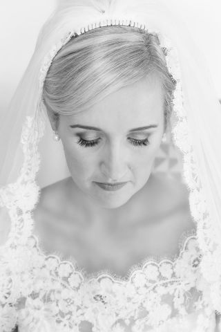 Valerie bridal portrait - West Cork wedding photographer