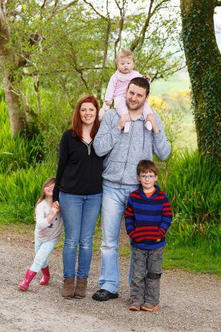 family portraits Cork - portrait photographer Cork - candid family photography Cork - Jacquie & family
