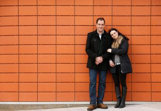 engagement photo shoot - Fitzgearlds Park Cork