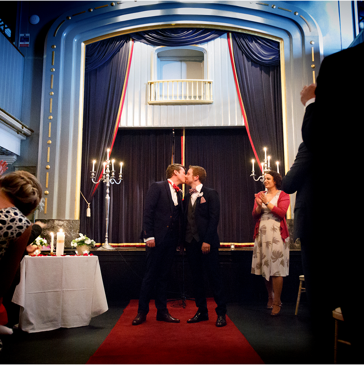 Langtons Set Theatre gay wedding