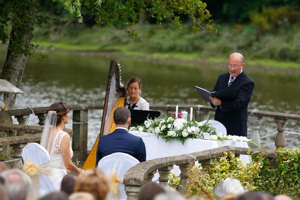 outdoor ceremony Ireland