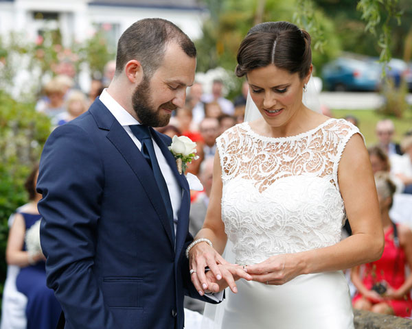 outdoor wedding in Ireland