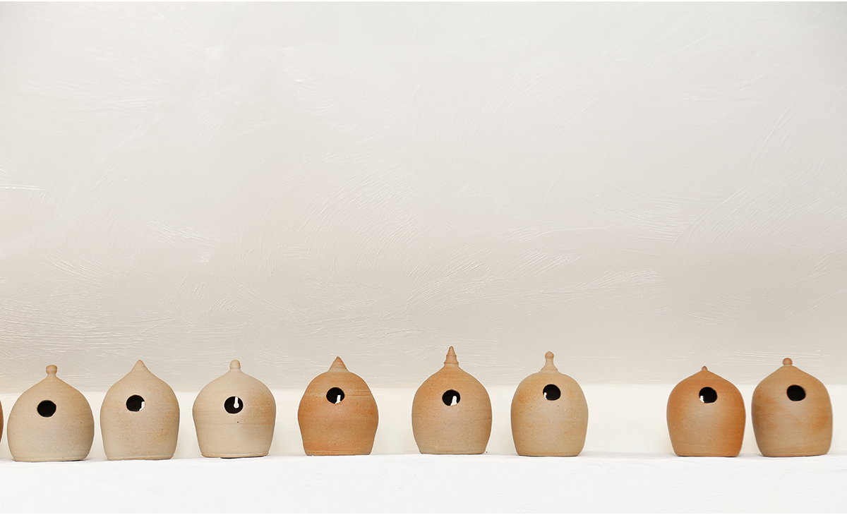 bat boxes bird feeders by potter John Naugton Kerry - professional imagery for creative artists Ireland