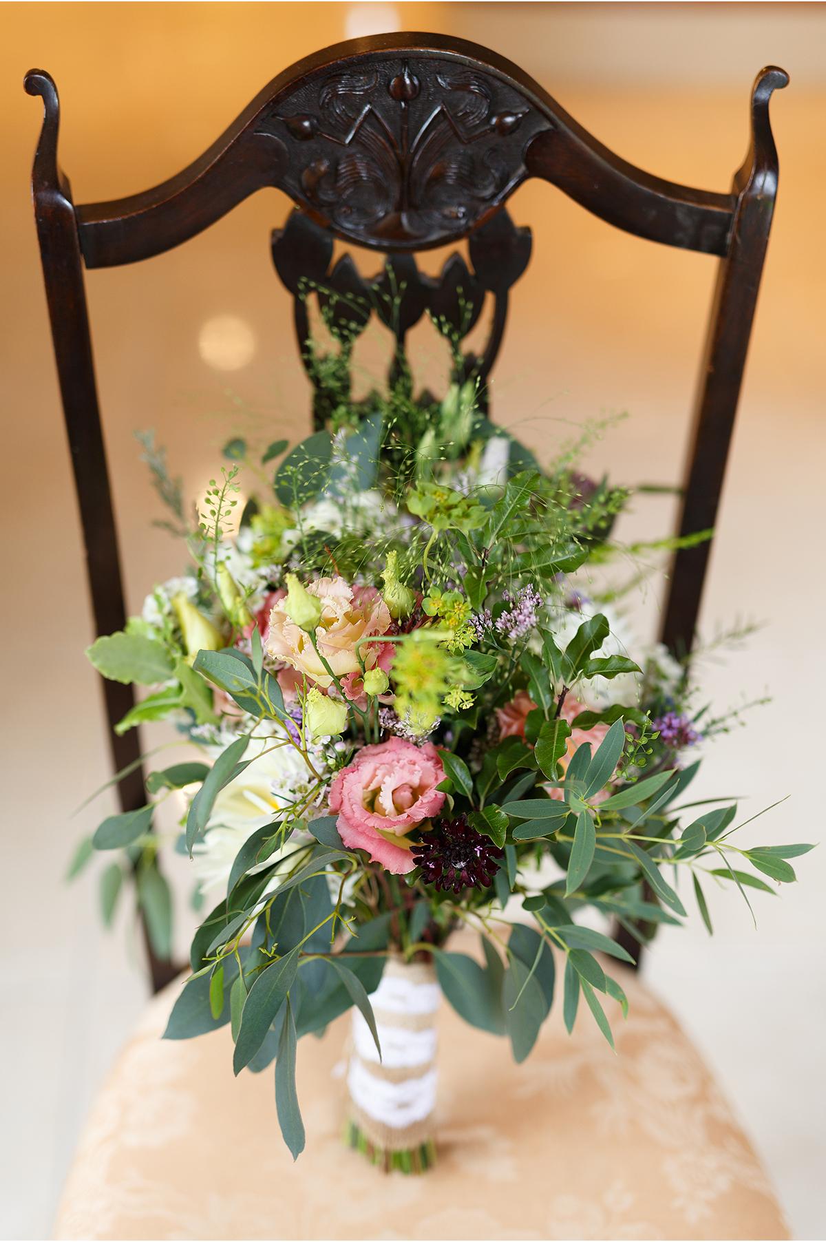 wild flower wedding bouquet