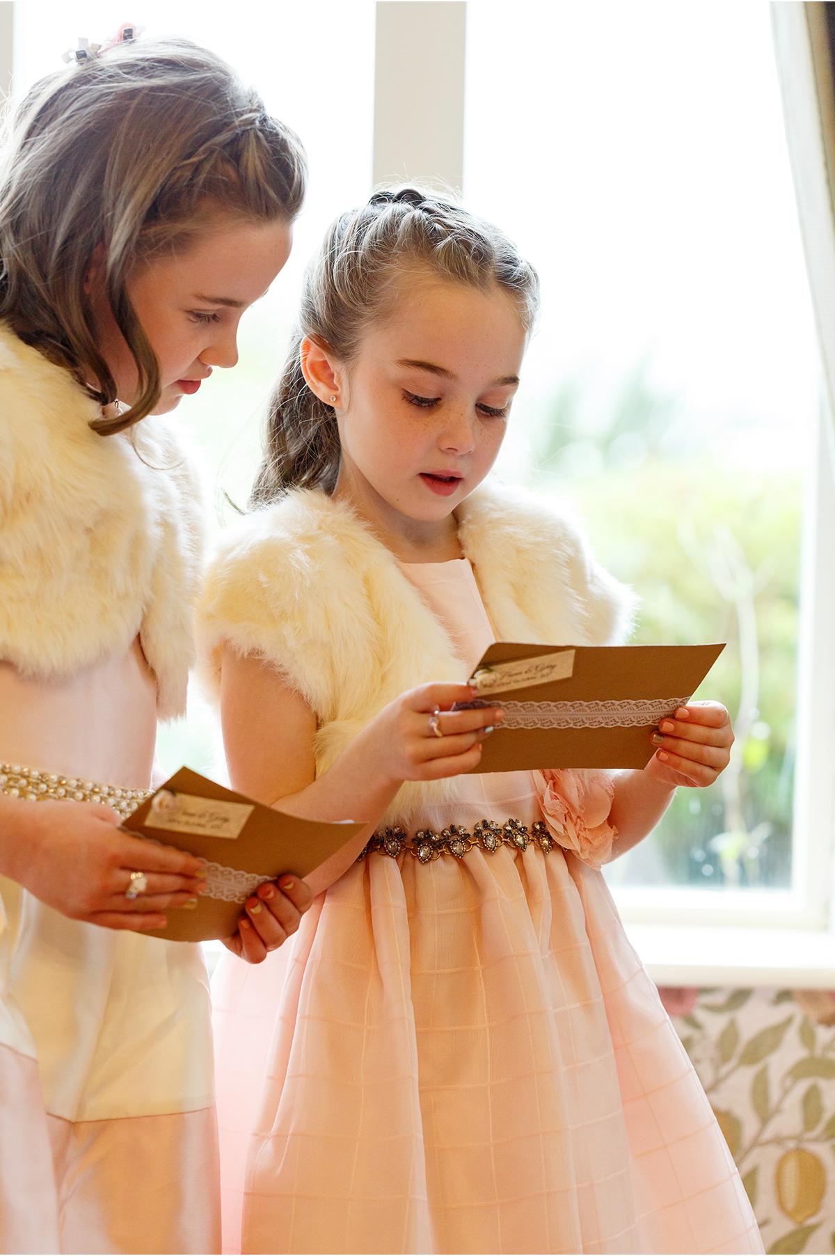 kid sisters cute kids at weddings