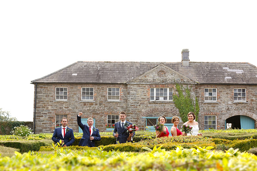 fun wedding photography Cork - Longueville House wedding