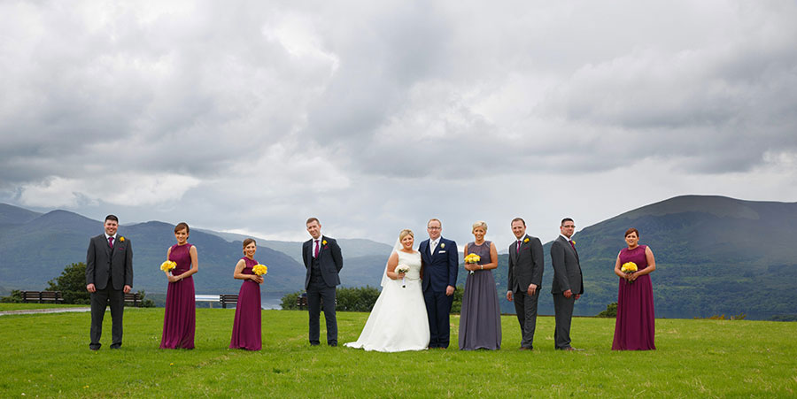 Cork wedding photographers - bright, colourful and fun wedding