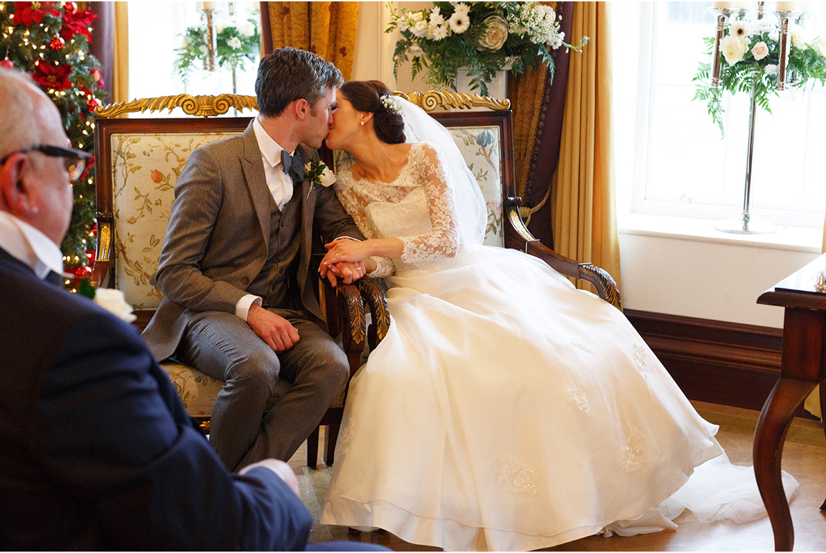 kiss humanist wedding castlemartyr