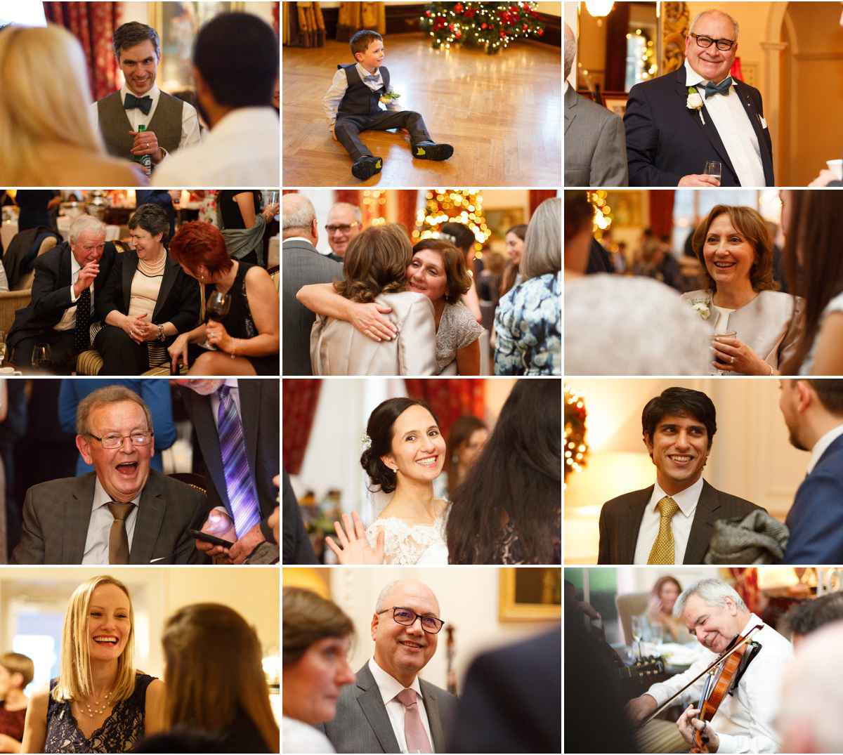 candid photographs of guests at Castlemartyr wedding