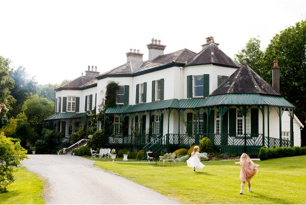 Ashley Park House in Nenagh a fantastic wedding venue for children to run free