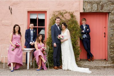 Barnabrow House wedding - wedding photographs