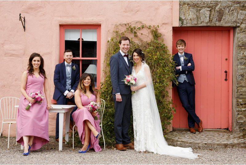 Barnabrow House wedding - wedding photographs