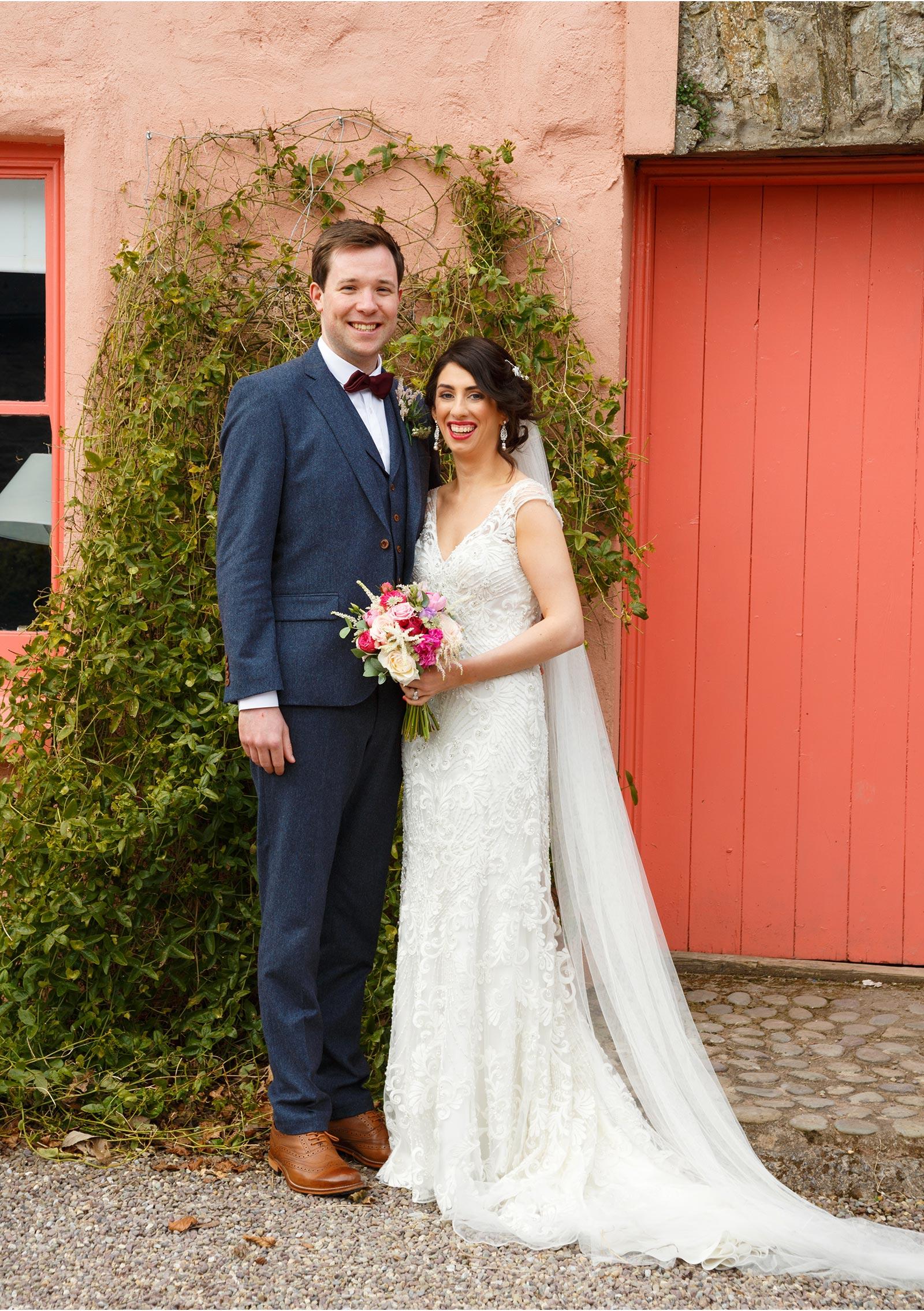 Wedding photos at Barnabrow House