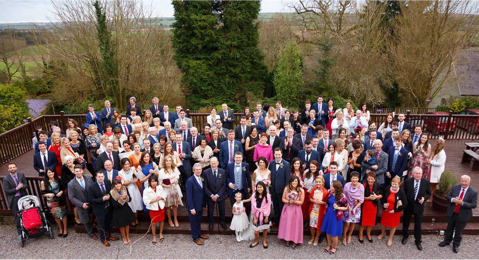Wedding group at Barnabrow