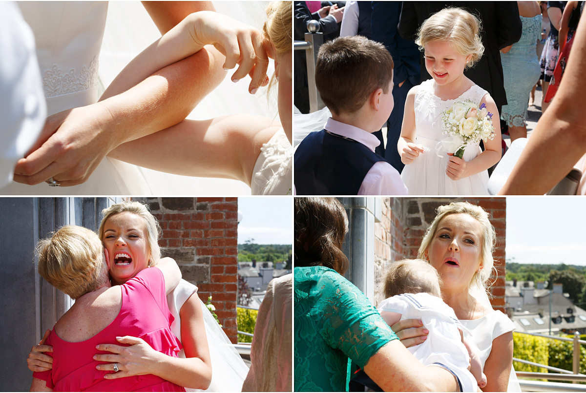 bright natural wedding photography Cork