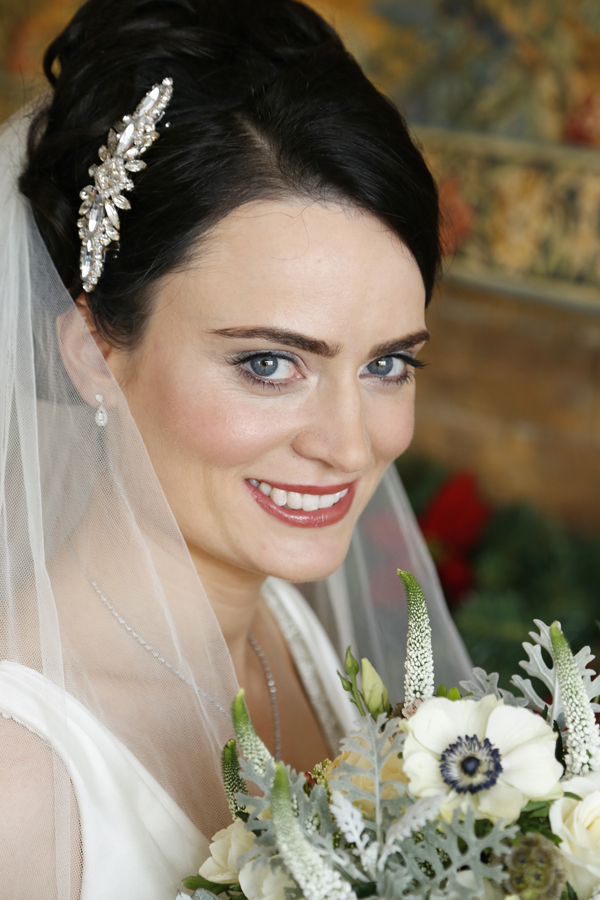 Portrait of a bride at Fota