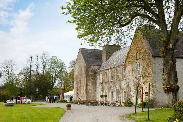 Cloughjordan House wedding day