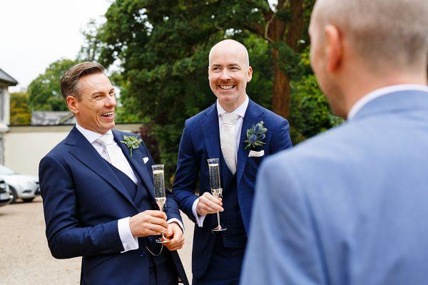 documentary wedding photographer Claire O'Rorke from same sex wedding in Dromquinna Manor