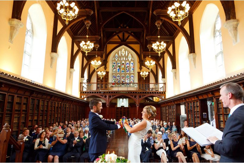 UCC Aula Maxima wedding, hand fasting ceremony, irish wedding tradition, great wedding location cork