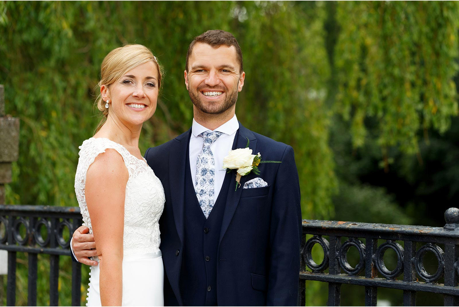 UCC wedding, Weeping willows