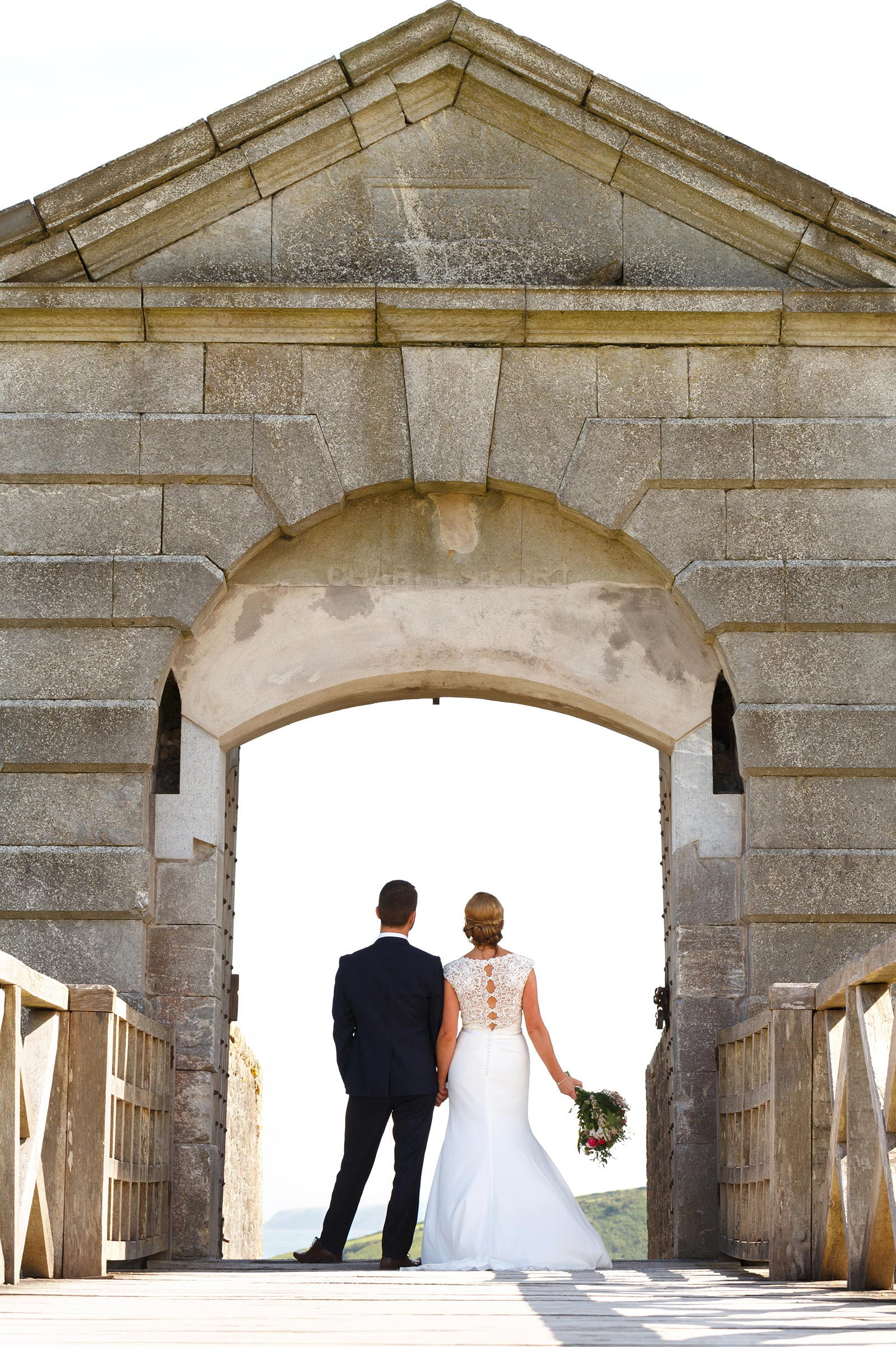 Charles Fort in Kinsale for wedding photographs