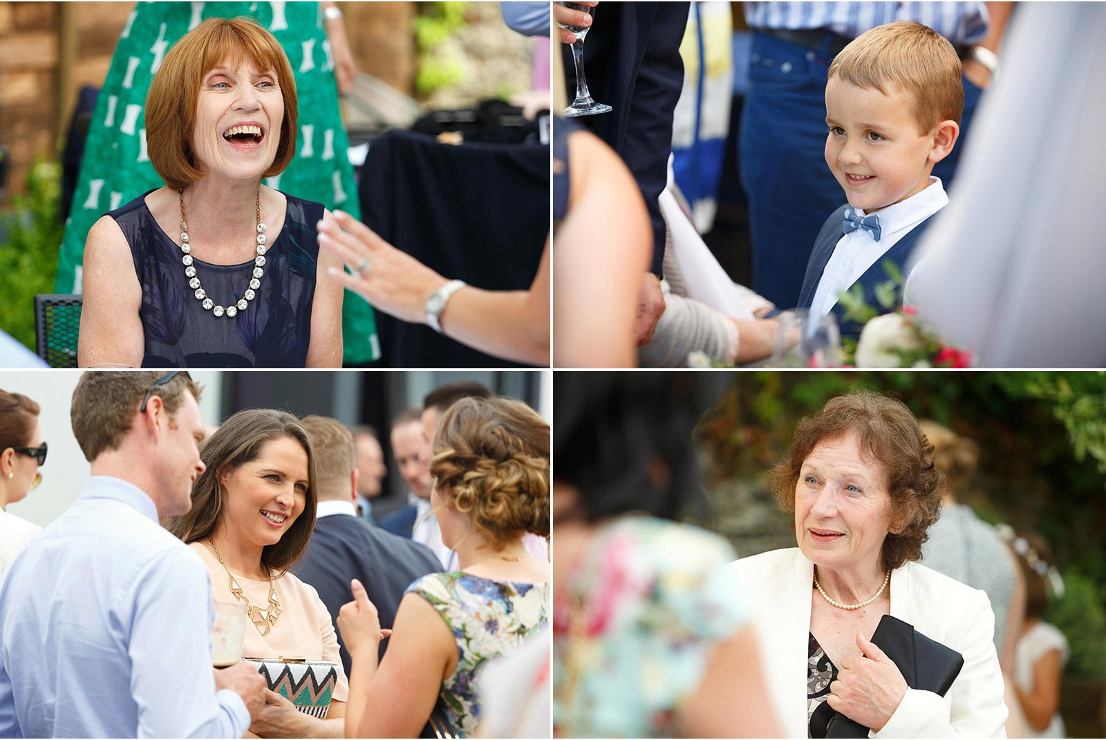 Candid wedding photography Cork, wedding guests
