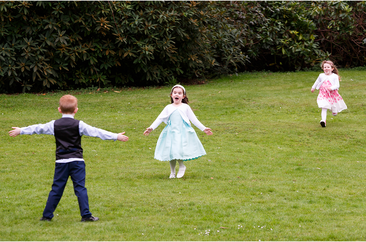 Marybrough House wedding fun for guests