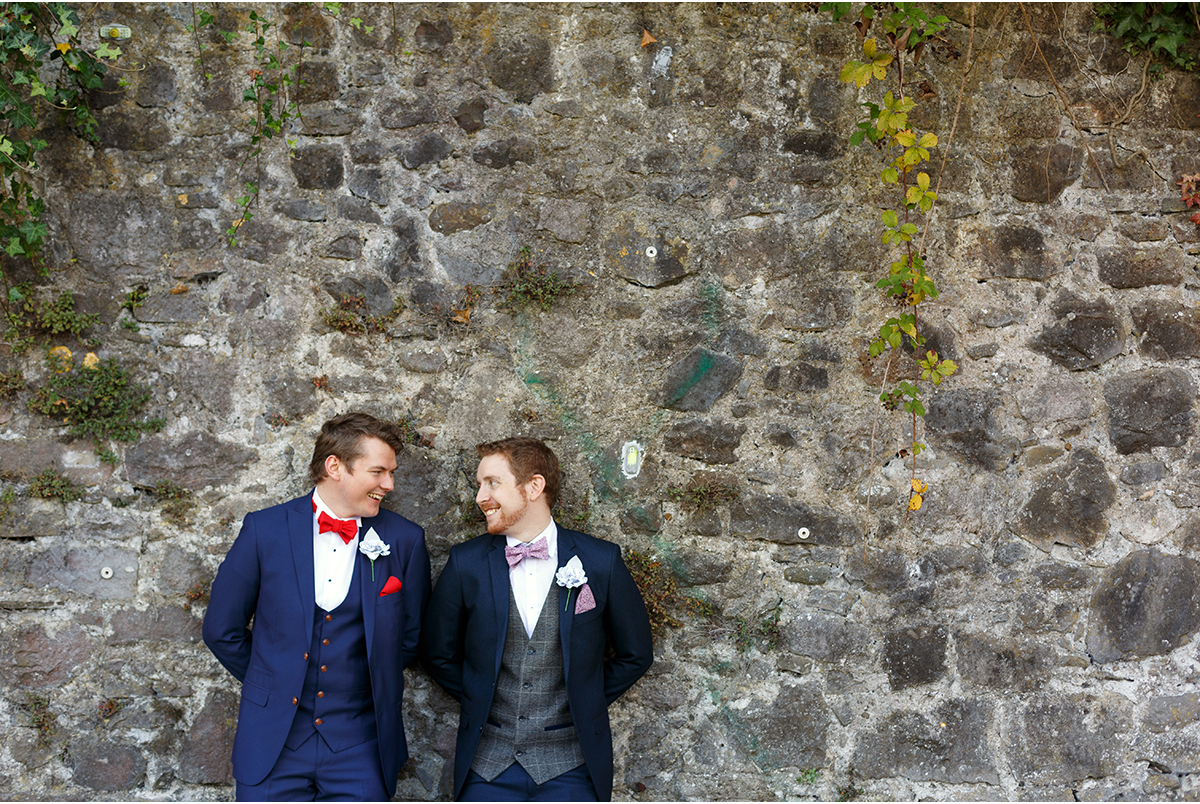 grooms same sex wedding photography cork