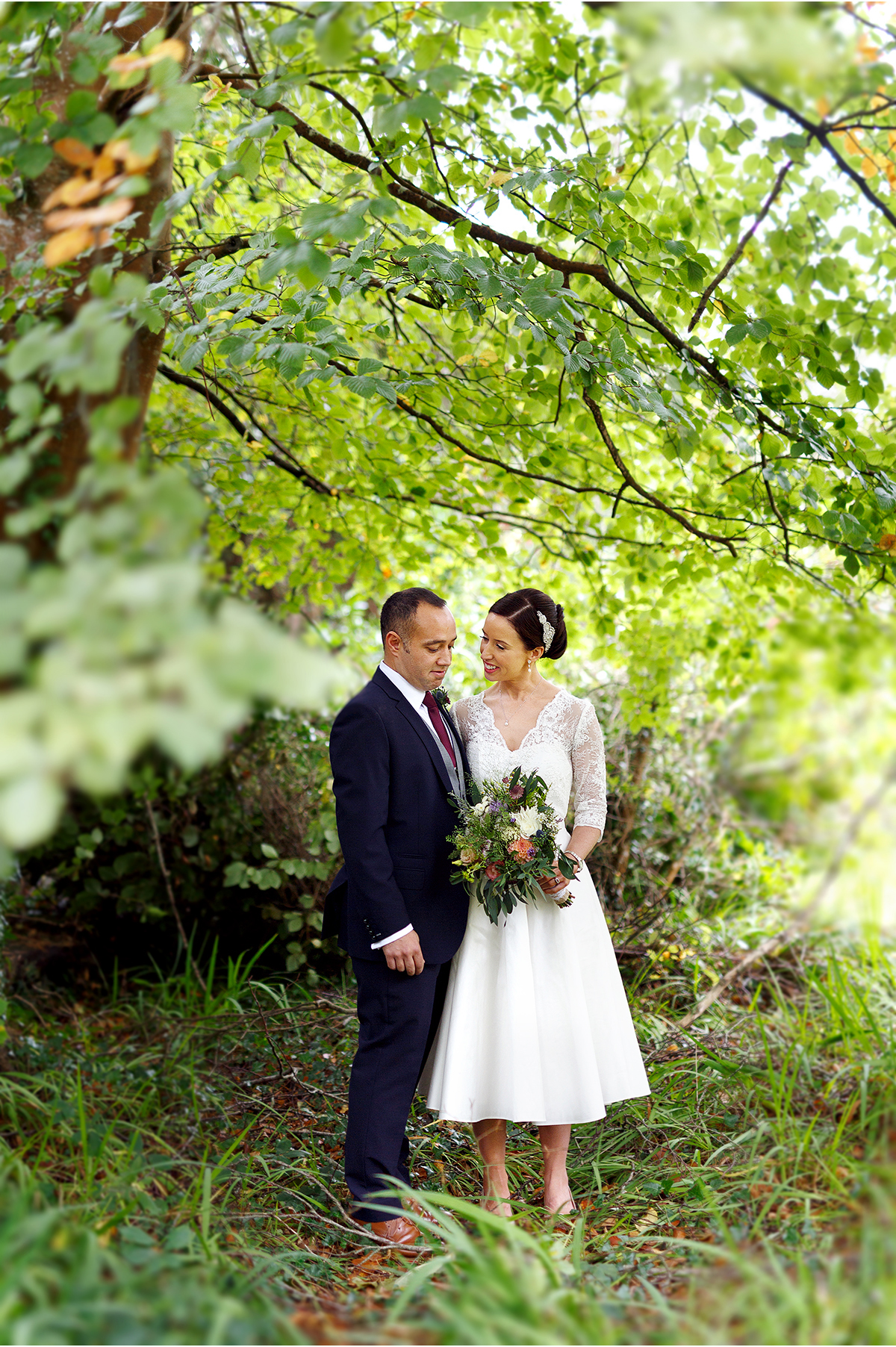 Carrig Country House garden wedding