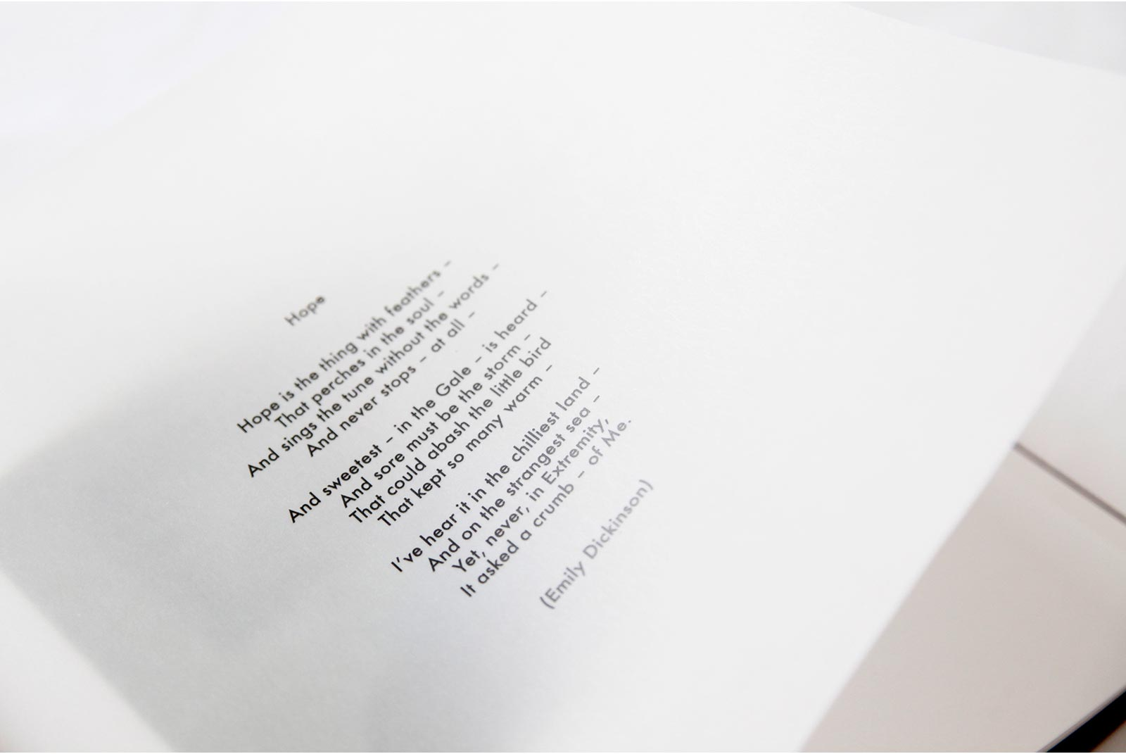Translucent page within Q Book from Queensberry